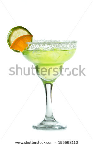 Orange Margarita Stock Photos, Royalty.