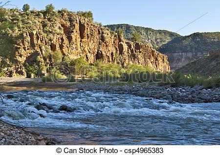 Stock Photos of Salt River Rapids.