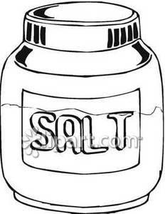 Salt salt clipart #19