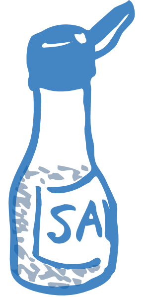 Salt salt clipart #11