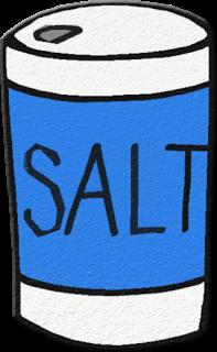 Salt salt clipart #16