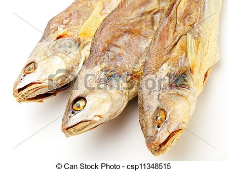 Stock Photography of Dried salted fish csp11348515.