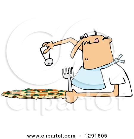 Spaghetti, Meatballs and Marinara Italian Food on a Plate Clipart.