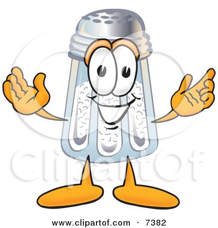 Cartoon of a Salt Shaker.