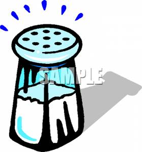 Salty food clipart.