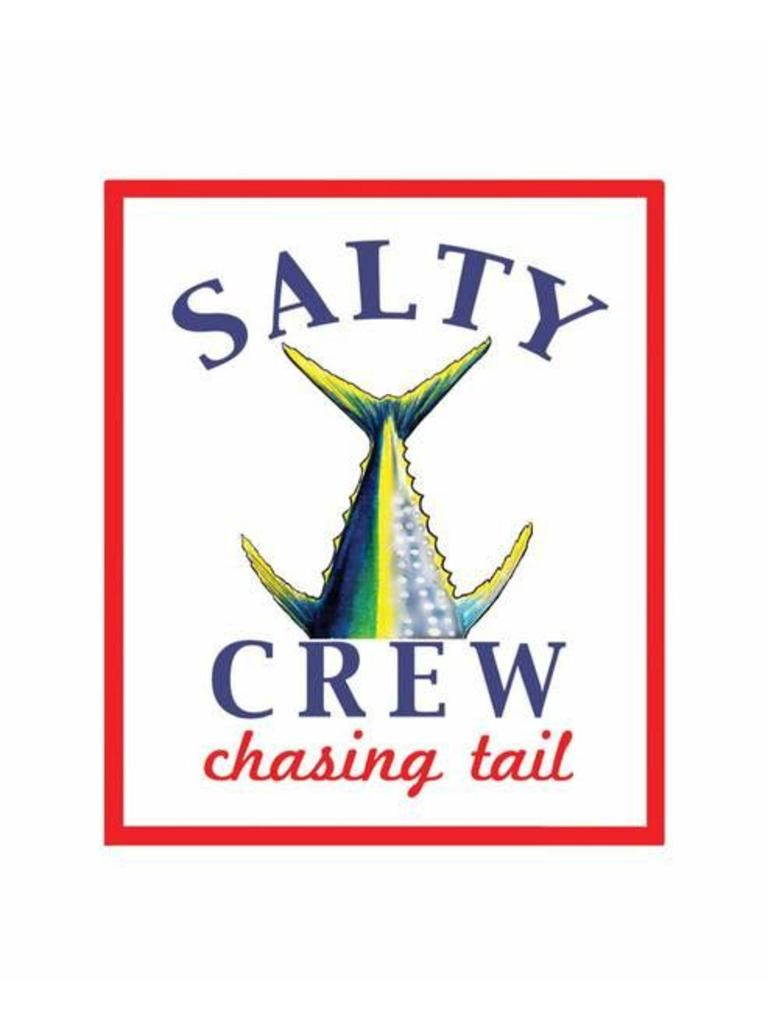 Salty Crew Chasing Tail Sticker.