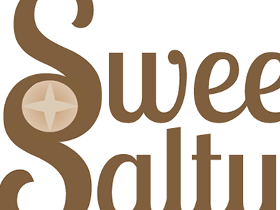 Sweet & Salty Logo by Gabriela Viana on Dribbble.