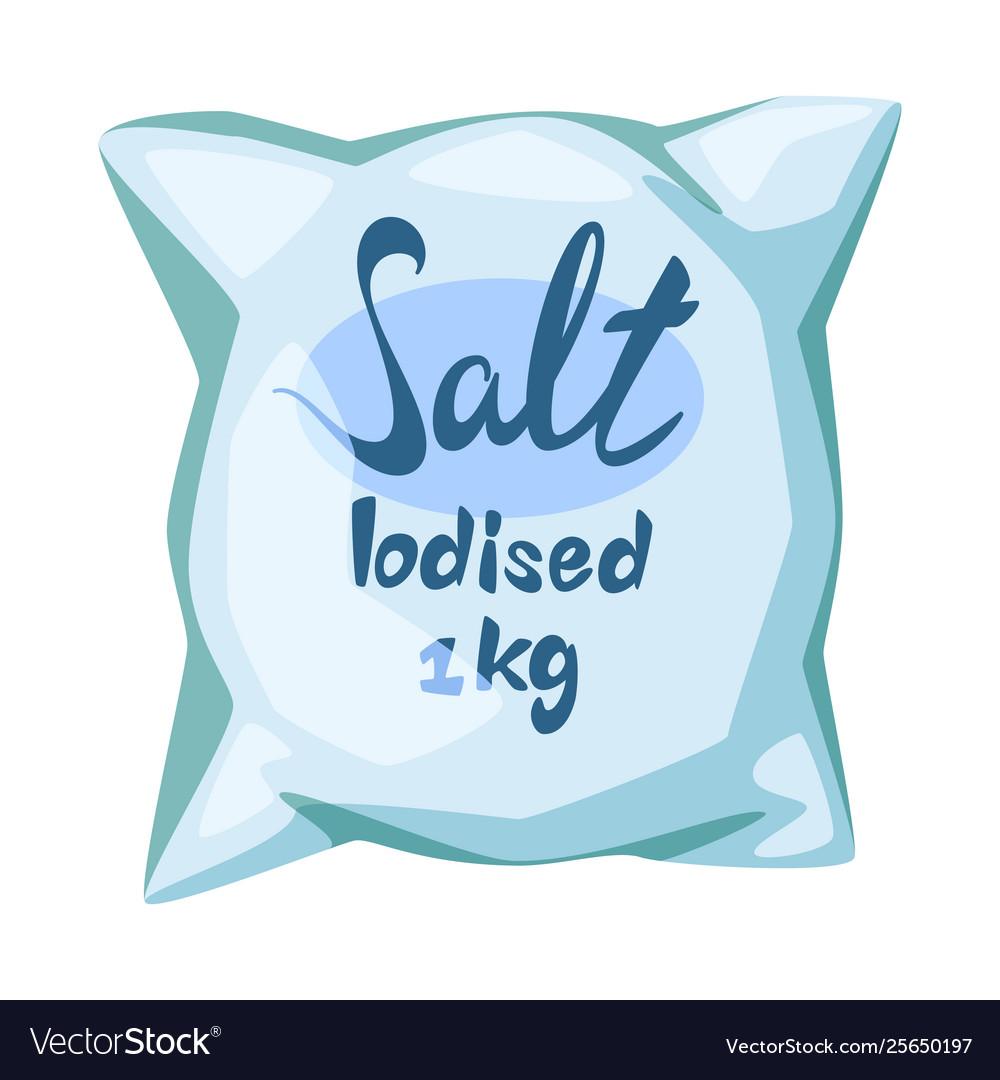 Bag and salty logo.