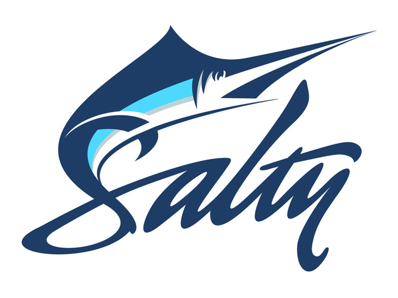Salty Logo by Gabriel Alvarez on Dribbble.