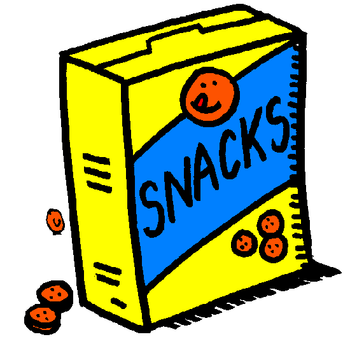 Junk Food Snacks Clipart.