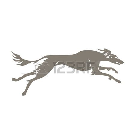 81 Sighthound Stock Vector Illustration And Royalty Free.