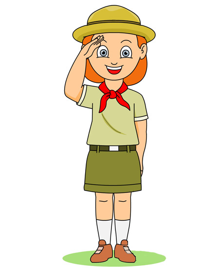 Scout Salute Clipart (25+).
