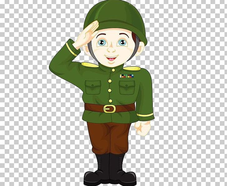 Soldier Salute Cartoon Military PNG, Clipart, Allegiance.