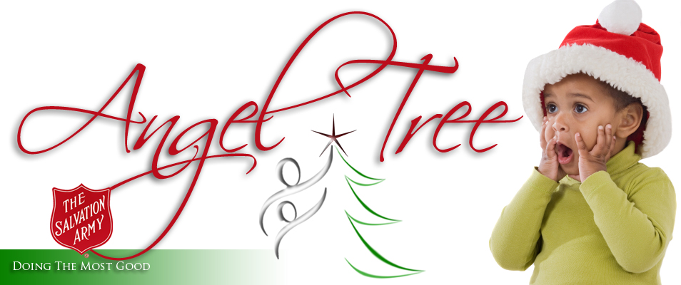 Salvation Army Angel Tree Clipart.