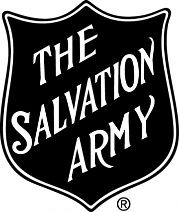 Salvation Army logo Clipart Graphic.