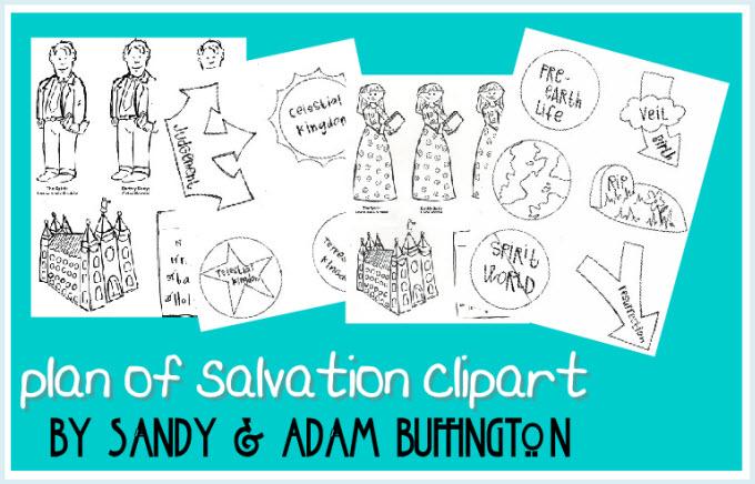 Plan Of Salvation Clipart.