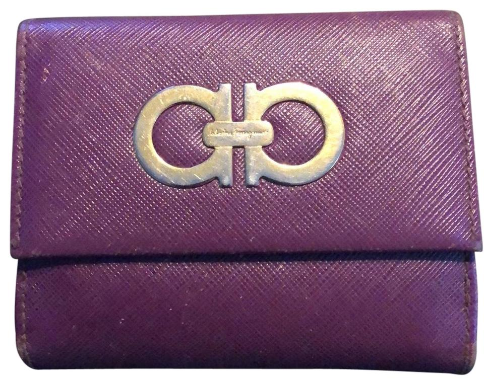 Purple Logo Wallet.