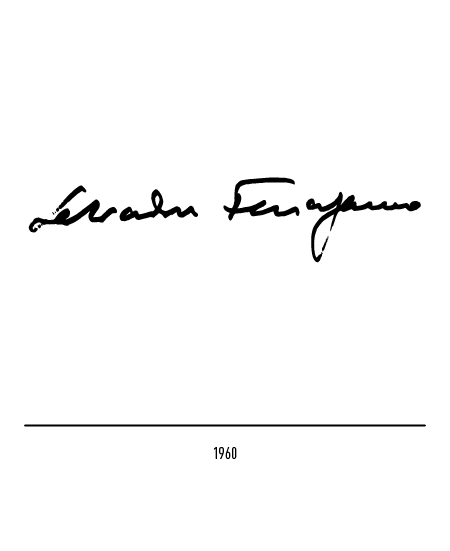The Salvatore Ferragamo logo.