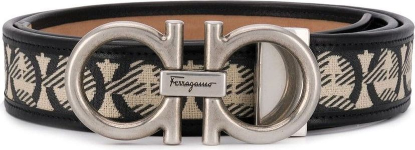 Salvatore Ferragamo logo belt.