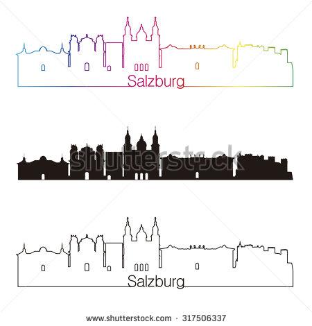 Salzburg Austria Stock Vectors, Images & Vector Art.