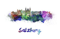 Salzburg Stock Illustrations.