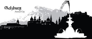 Salzburg Stock Illustrations.