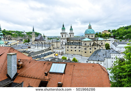 Austria Fortress Hohensalzburg Salzburg Stock Photos, Royalty.