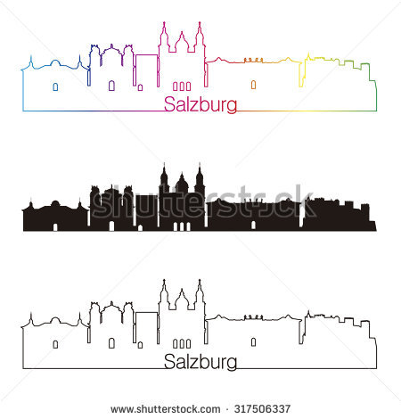 Salzburg Austria Stock Vectors, Images & Vector Art.