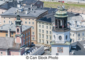 Stock Photographs of Cathedral square (Domplatz) located at.