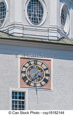 Stock Photo of Carillion (Glockenspiel) located at Salzburg.