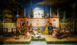 Marionettes Museum In Palermo , Sicily, Italy Editorial Stock.