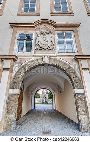 Stock Image of Michael Haydn Museum at Salzburg, Austria.