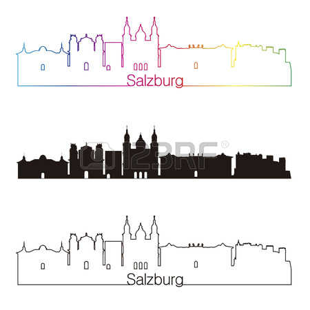 278 Salzburg Illustration Stock Vector Illustration And Royalty.