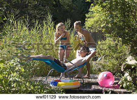 Stock Photograph of Austria, Salzburger Land, Teenagers (14.