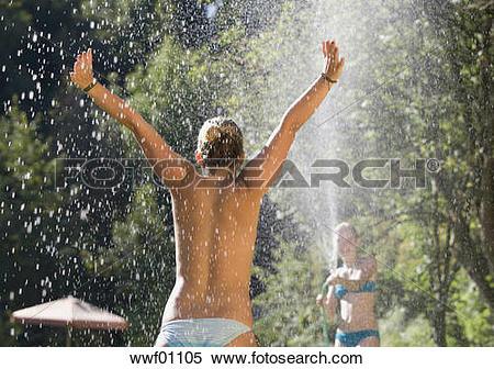 Stock Image of Austria, Salzburger Land, Teenage girls (14.