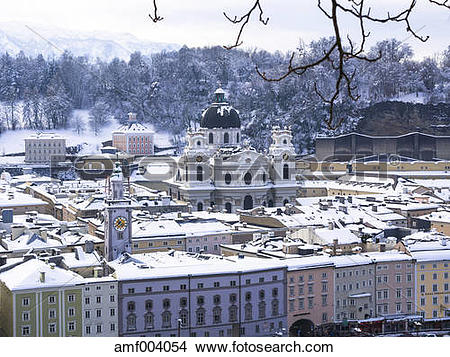 "Stock Photo of ""Austria, Salzburg State, Salzburg, Old town."