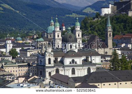 Salzburg Stock Photos, Royalty.