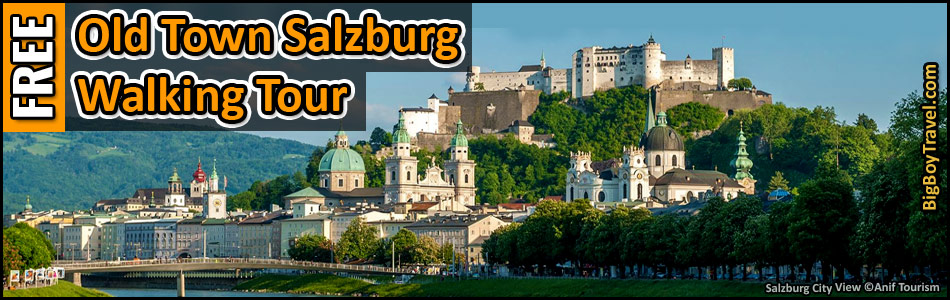 FREE Salzburg Walking Tour Map.