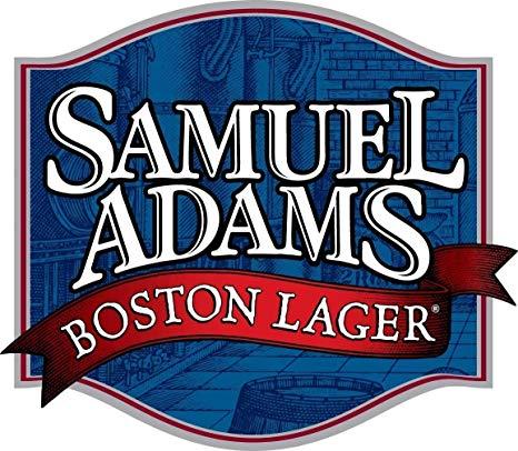 Edwin Group of Companies Sam Adams Boston Lager Sticker.