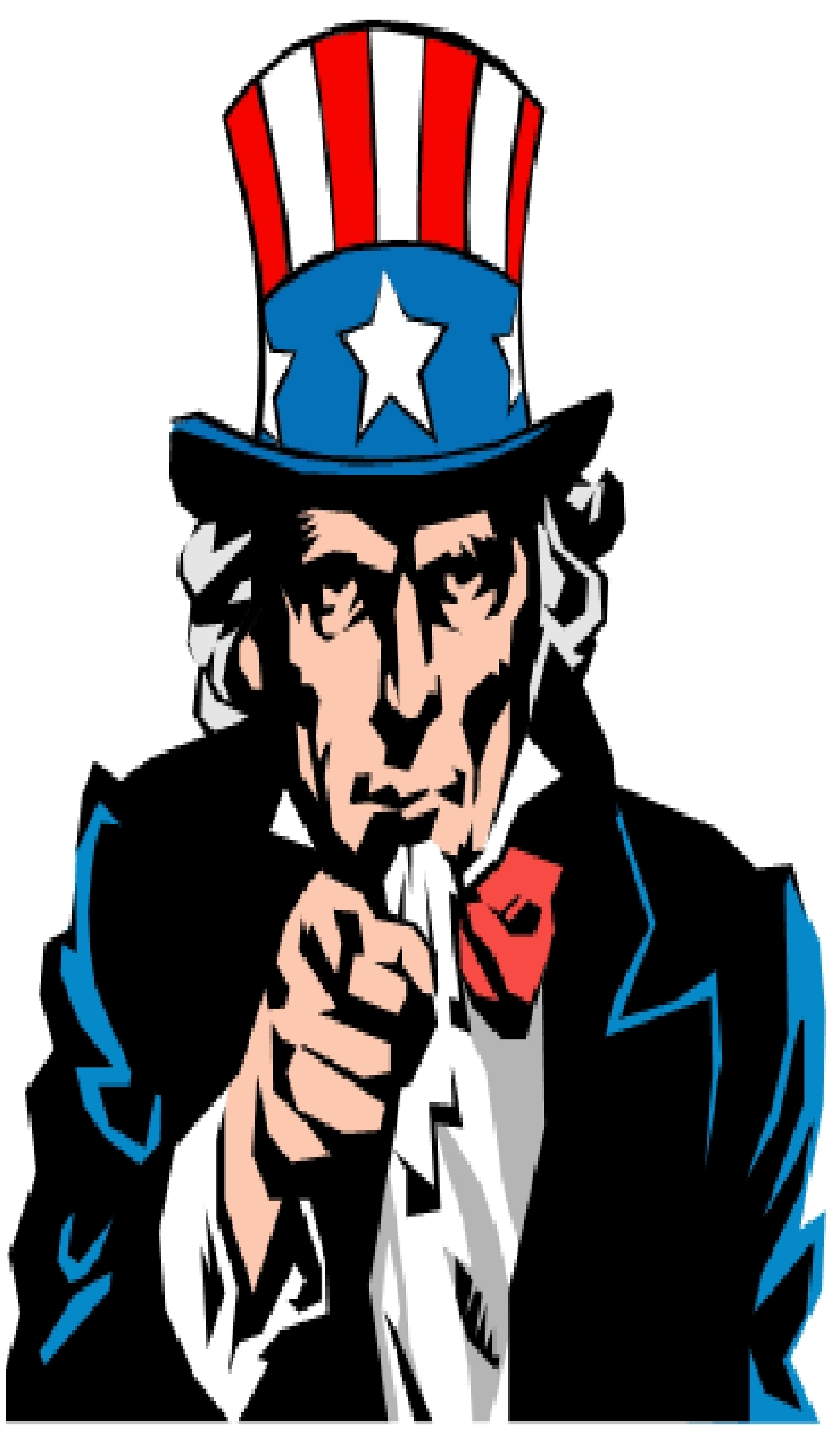 Uncle Sam Clipart.