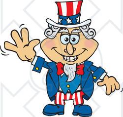 Clip Art. Uncle Sam Clipart. Stonetire Free Clip Art Images.