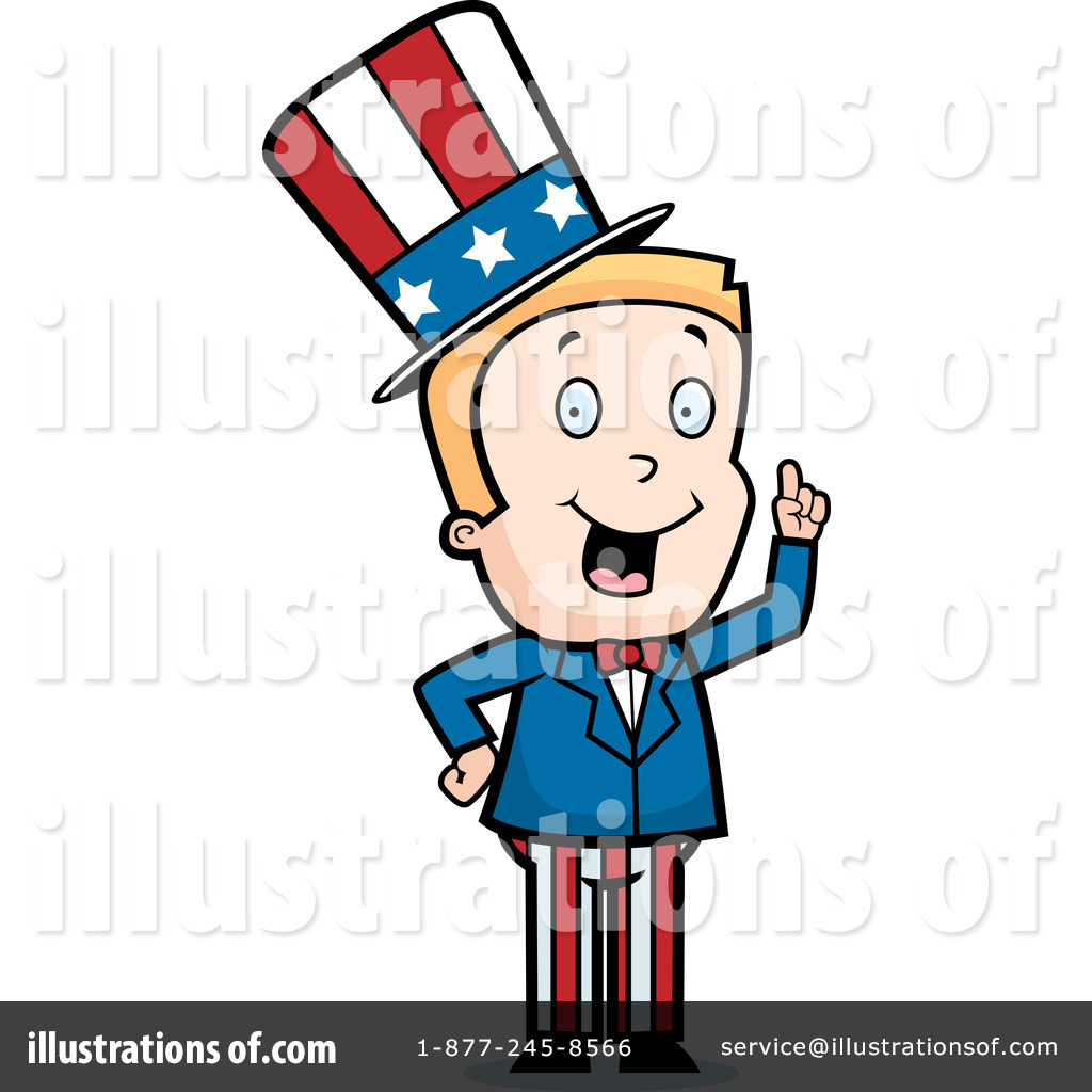 Uncle Sam Clipart #44922.