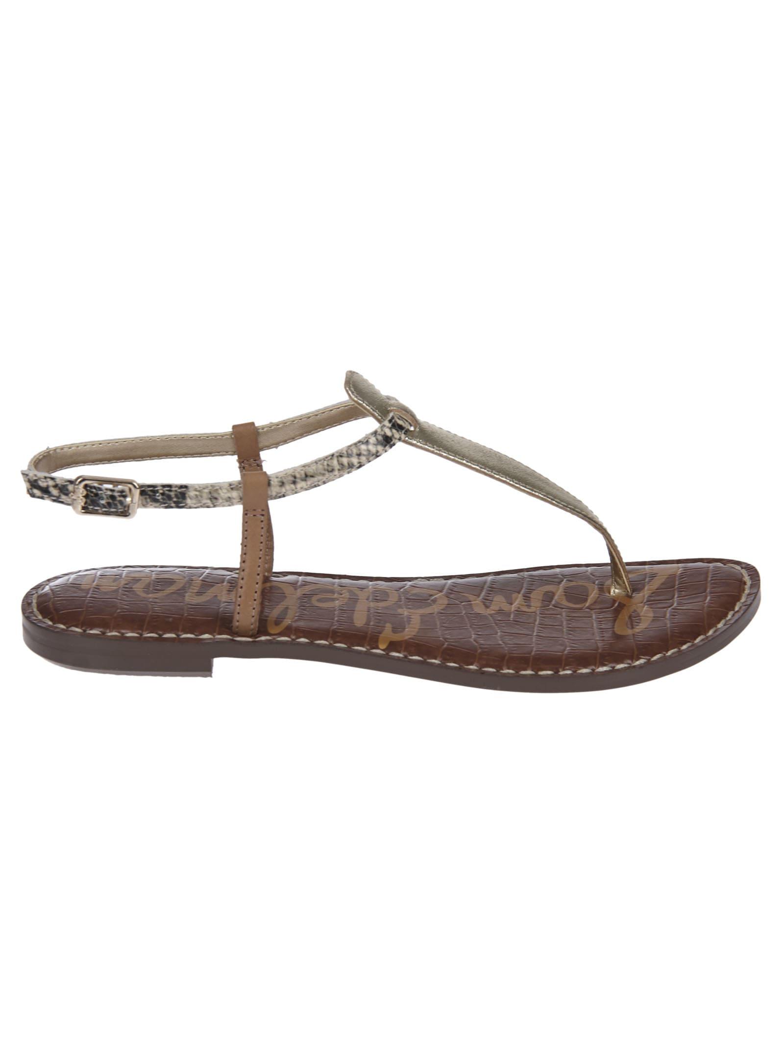 Sam Edelman Logo Flat Sandals.