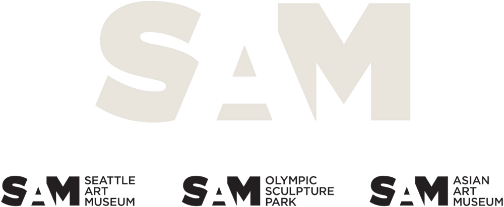 Brand New: New Logo and Identity for SAM by Hornall Anderson.