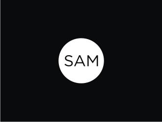 Sam logo design.