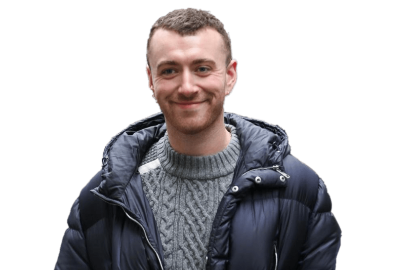 Download Free png sam smith winter coat.