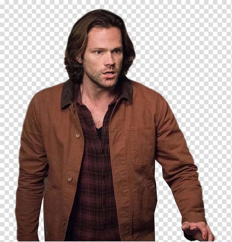 Sam Winchester transparent background PNG clipart.