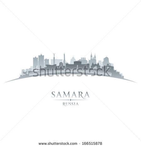 Samara Russia Stock Vectors & Vector Clip Art.