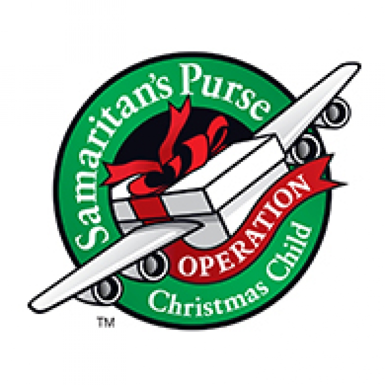 Kyle has been collecting for Samaritans Purse Operation.
