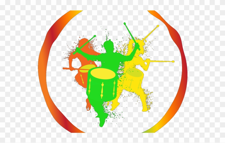 Drum Clipart Samba Drums.